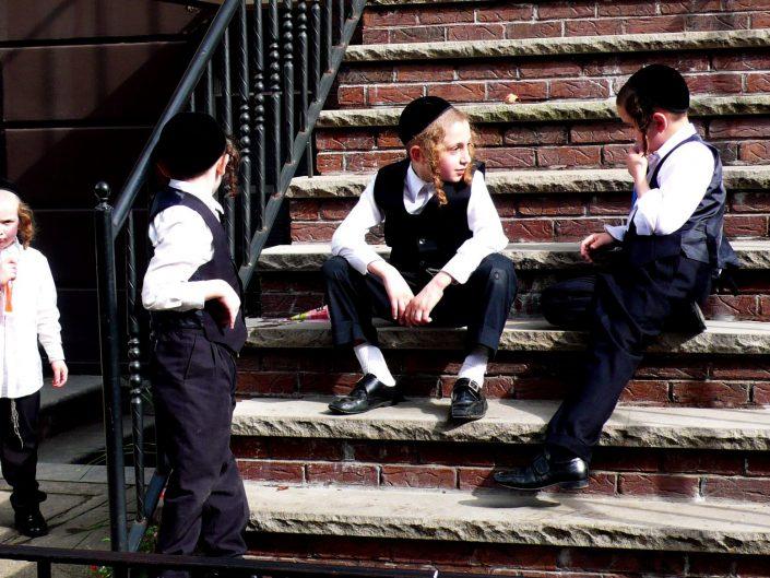"""""""Jew Kids"""". Brooklyn. New York City. 2009"""