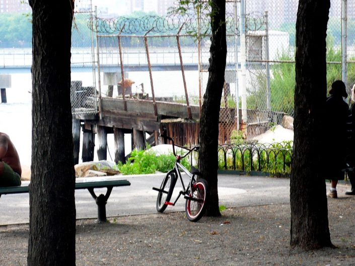 """""""Black guy and Jew Couple at East River"""". Brooklyn. New York City. 2009"""