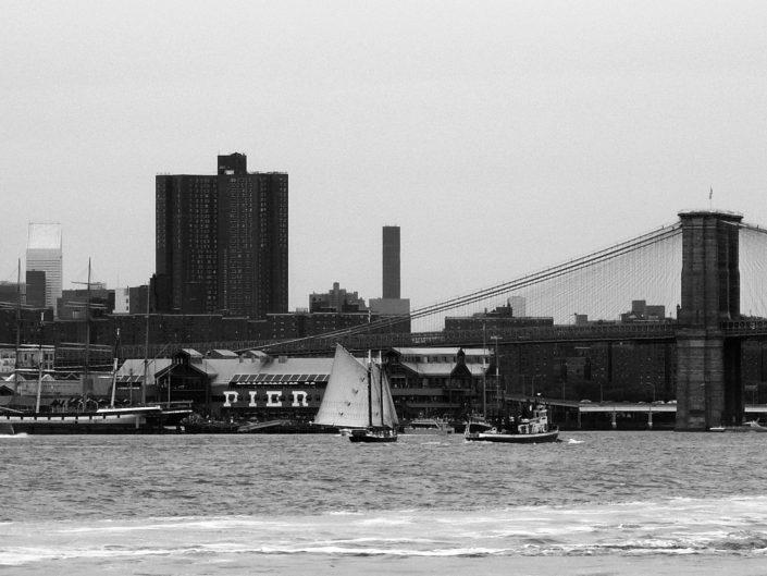 """Pier 17"". East River. New York City. 2009"
