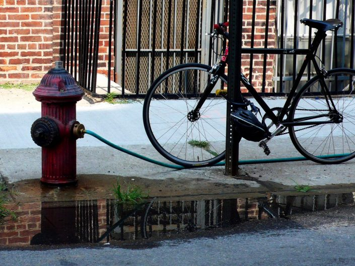 """""""Williamsburg Byke"""". Brooklyn. New York City. 2009"""