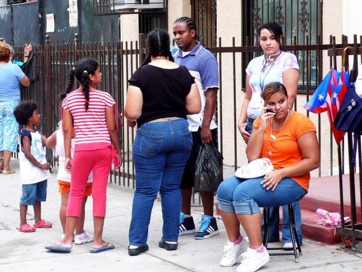 """Latin Call"". Brooklyn. New York City. 2009"