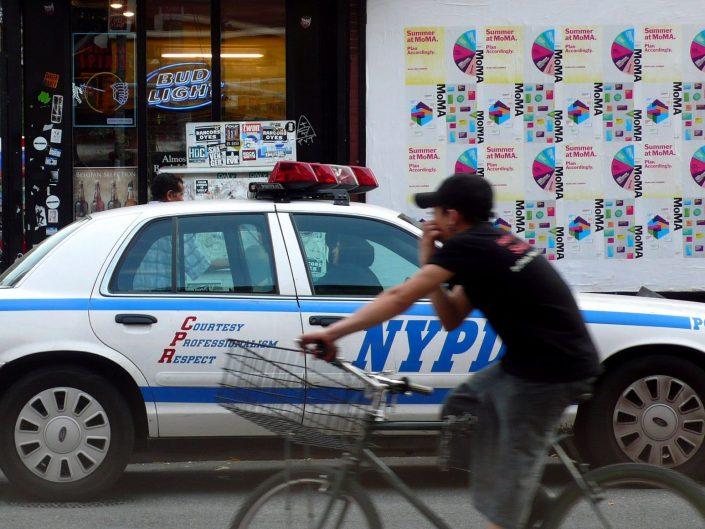 """NYPD Williamsburg"". Brooklyn. New York City. 2009"