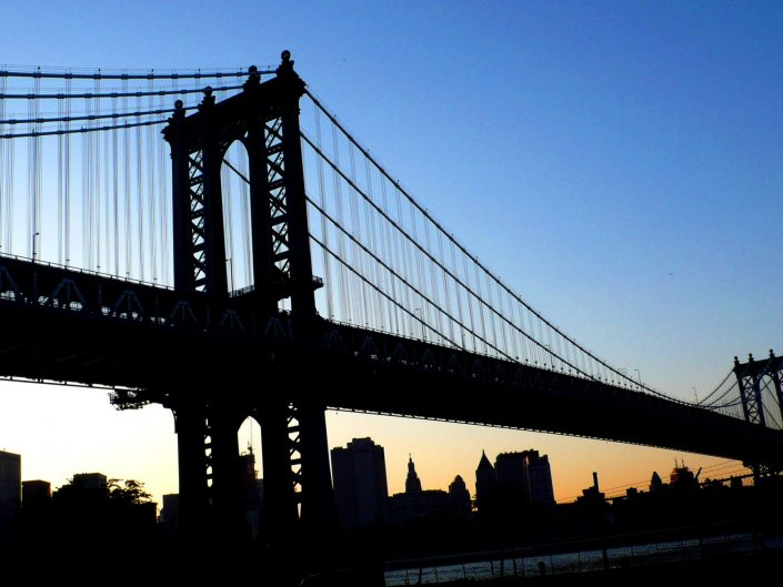 """Manhattan Bridge"". Brooklyn. New York City. 2009"