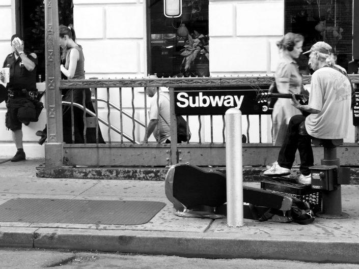 """""""Soho Music Cops"""". Manhattan. New York City. 2009"""