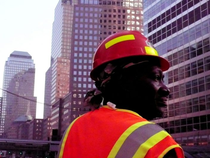 """Downtown Builder"". Manhattan. New York City. 2009"