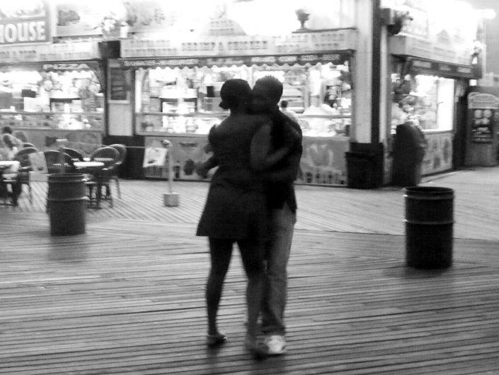 """Coney Island Dance"". Riegelmann Boardwalk. Brooklyn. New York City. 2009"