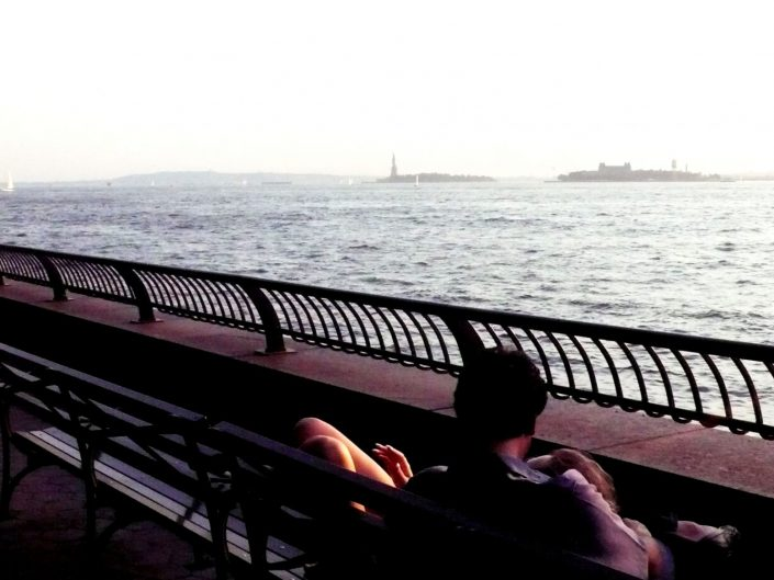 """Hudson River Lovers"". Manhattan. New York City. 2009"