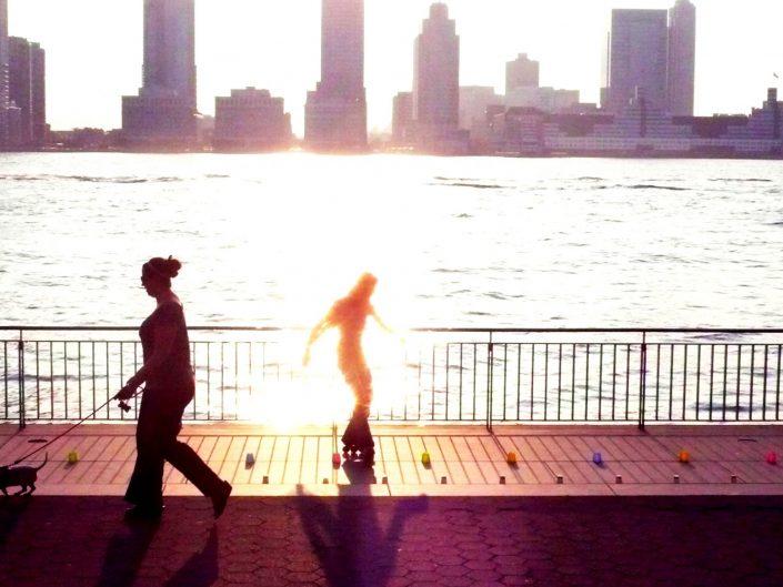 """""""Hudson River Skater"""". Manhattan. New York City. 2009"""