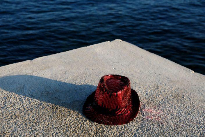 Sombreros Intrépidos. Mar Bella. Barcelona. 2018
