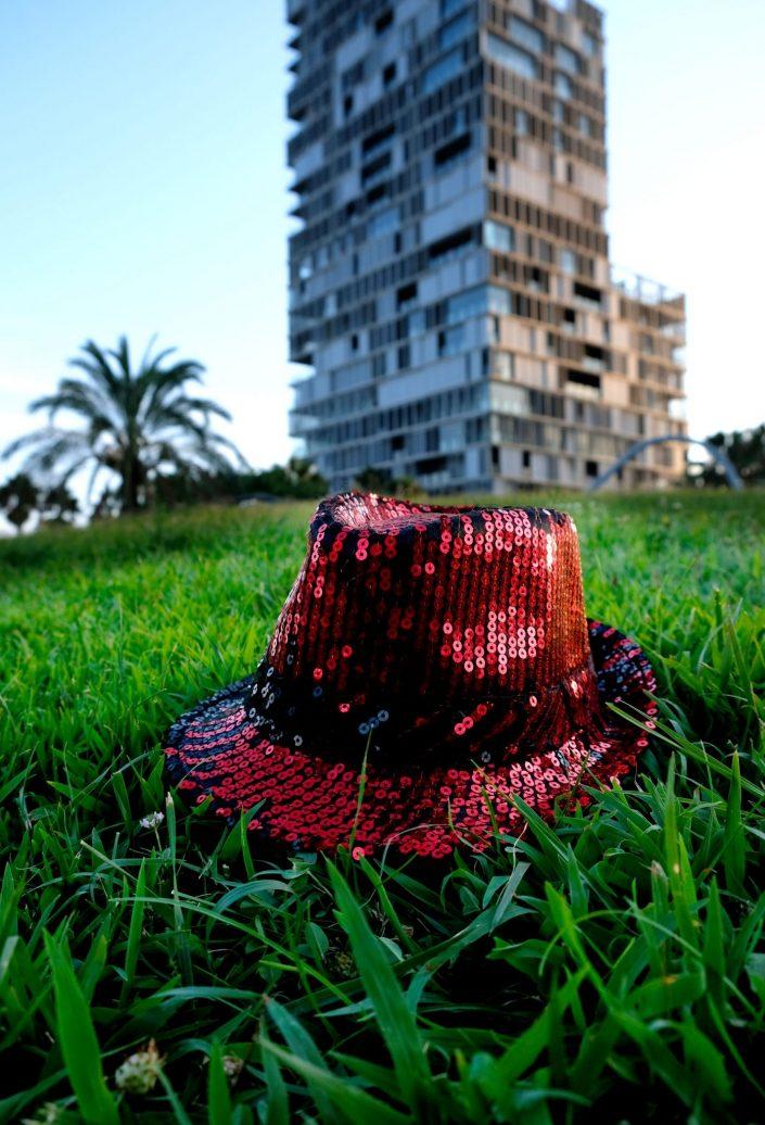 Sombreros Intrépidos. Parc Diagonal Mar. Barcelona. 2018