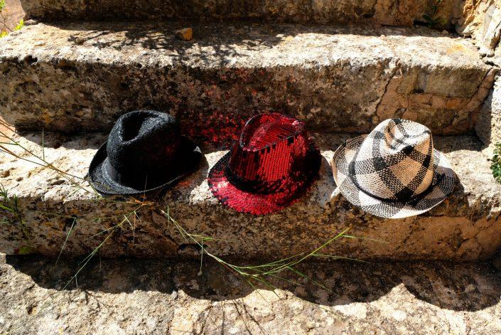Sombreros Intrépidos. Maria de la Salut. Mallorca. 2018