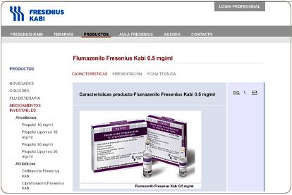 Fresebius Kabi Spain - Catálogo de productos