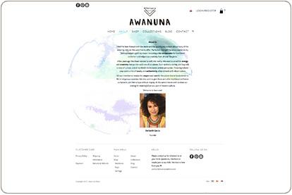 Awanuna Store - Nosotros