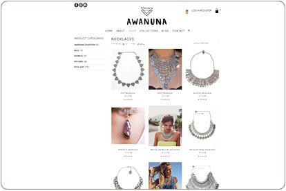 Awanuna Store - Catálogo