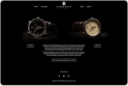 Colección Direnzo relojes