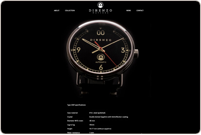 Modelo Direnzo relojes