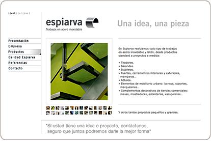 Espiarva.com - Portfolio de proyectos