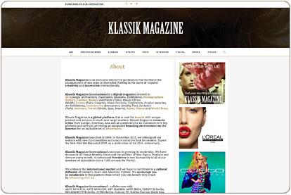 Klassik Magazine - About