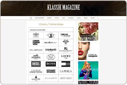 Klassik Magazine - Clients / Partnerships