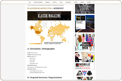 Klassik Magazine - Global Audience