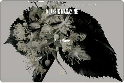 Klassik Magazine - Emi Haze Artist - Article