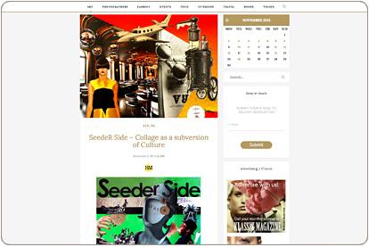 Klassik Magazine - SeedeR Side - Barcelona Collage Artist
