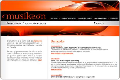 Musikeon.net - Destacados Página de Inicio