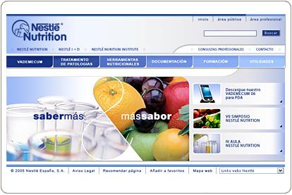Nestlé - Nutrición Clínica - Profesional