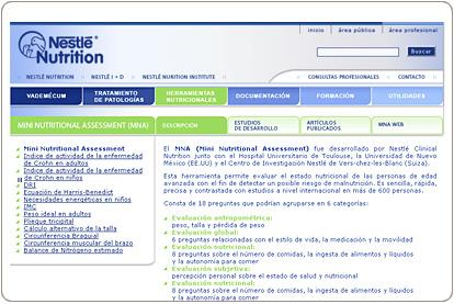 Nestlé - Nutrición Clínica - Herramientas para el profesional