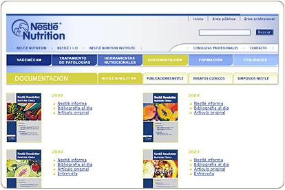 Nestlé - Nutrición Clínica - Publicaciones