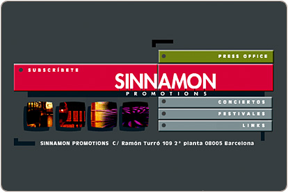 Sinnamon Promotions - Inicio