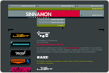 Sinnamon Promotions - Clubs