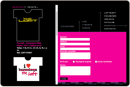 The Loft Club - Tienda Online