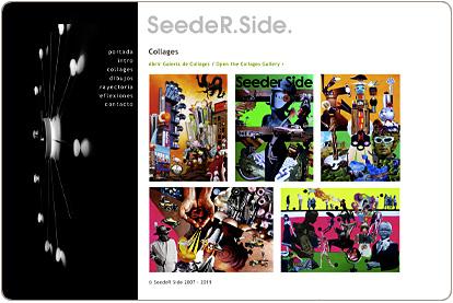 SeedeR Side. Collages
