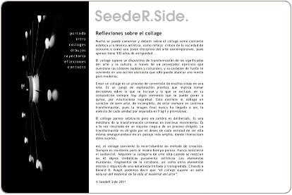 SeedeR Side. Reflexiones sobre el Collage