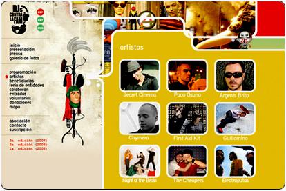 IV Festival Djs Contra la Fam 2008