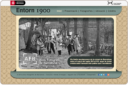 Entorn 1900 - Inicio