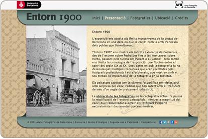 Entorn 1900 - Presentación