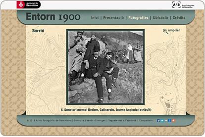 Entorn 1900 - Fotografias